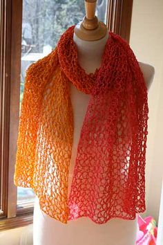 Crocheted Sherbet Wrap Pattern