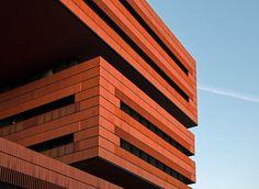 Rubik's Cube - New Campari Headquarters by Architect Mario Botta - Italy -