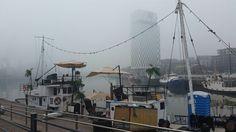 Foggy morning in Helsinki