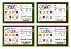 2017 Girl Scout Cookie Printable Door Hanger Order We