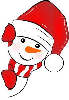 Christmas Images Free, Christmas Doodles, Christmas Drawing, Christmas Pictures, Snowman Christmas Decorations, Christmas Crafts To Make, Christmas Rock, Christmas Snowman, Door Hanger Template