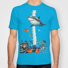 Aquarium T-shirt By Dano77
