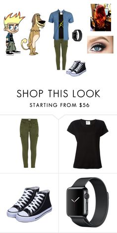 """""""Johnny Test & Dukey"""" by themortalinstrumentslover ❤ liked on Polyvore featuring Mother and Forte Forte"""
