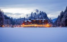 The beautiful Parkhotel Tristachersee in Amlach, Austria. #beautiful #hotel #amlach #austria #winter #winterwonderland #seeaustria #travelaustria #holiday #vacation #travel #holidays #holidaytime #holidaymood #travelphotography #travelblogger #ski #skiing #skiresort