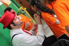 FEM FESTA 2016 - Pintacares - Activitats de la jornada Fem Festa 2015/16 Escola Pia Balmes