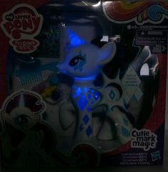 Cutie Mark Magic Glamour Glow Rarity Brushable Glow Effect