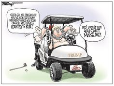 Aside from the 73 million dollar cost that includes $150,000 in golf cart rentals that goes directly to Trump's coffers, the White House doesn't want the American taxpayer to know whether Agent Orange is playing golf. The underlying problem...