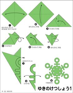 origami snowflakes 3 fold and cut patterns Snowflake Origami, Paper Snowflake Template, Paper Snowflakes, Snowflake Pattern, Origami Flowers, Paper Flowers, Snowflake Party, Simple Snowflake, Kids Origami