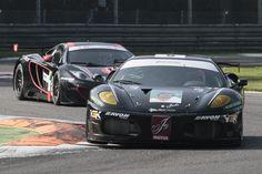PAOLO SALVATI - Andrea Palma - Black Team, Ferrari F430, il 20 e 21 ottobre 2012.