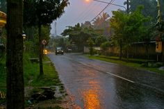 Ubud in the rain