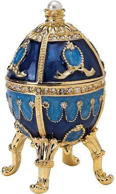 The Pushkin Collection: Natalia Fabergé-Style Enameled Egg