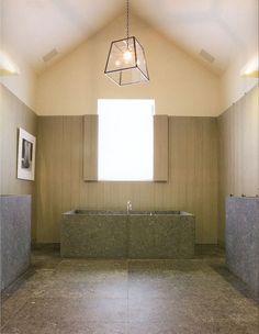 Beautiful bathroom by Vincent Van Duysen