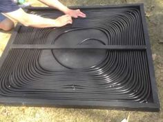 Solar Panel for Swimming Pool Homemade Swimming Pools, Homemade Pools, Diy Swimming Pool, Swimming Pool Heaters, Solar Pool Heater, Solar Panel Installation, Solar Panels, Solar Panel Technology, Green Technology