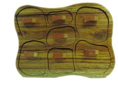 Gama SECRETOS madera pino gallego NUBE 7CAJONES