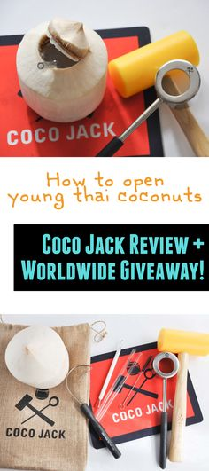 Coco Jack - Product Review | ElephantasticVegan.com Thai Coconut, Product Review, Cruelty Free, Free Food, Recipies, Vegan, Giveaways, Beverage, Easy