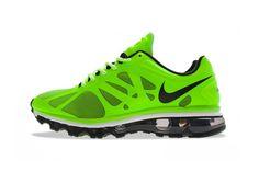 "Nike Air Max+ 2012 ""Electric Green"""