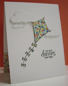 Let Your Dreams Take Flight by Loll Thompson - Cards and Paper Crafts at Splitcoaststampers