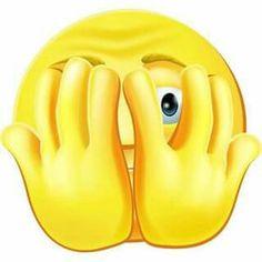 I Cannot Believe I just did that Smiley Smiley Emoticon, Emoticon Faces, Symbols Emoticons, Emoji Symbols, Animated Emoticons, Funny Emoticons, Emoji Images, Emoji Pictures, Just Smile