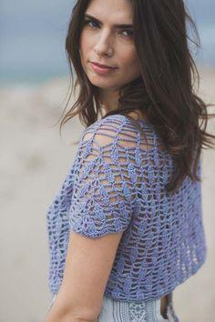 Interweave Crochet Summer 2016 / Juniper Top by Dora Ohrenstein — KW