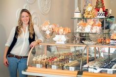 Pastry shop co-owner Jessica Smith, of Toronto's extraordinary Cake Opera Co.