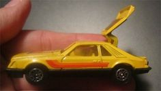 1982 CORGI JUNIORS DIE-CAST YELLOW FORD MUSTANG COBRA Corgi Toys Ford Cobra Mustang Muscle Car No 370 1981 Vintage BOSS IS BACK #Corgi #Ford Mustang Cobra, Ford Mustang, Corgi Toys, Creating A Business, Diecast, Yellow, Car, Boss, Muscle