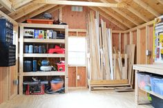 Inside My Shed Potting Shed Interiors In 2019 Storage