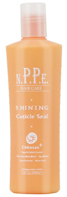 Shining Cuticle Seal. Quitosa e proteinas de vitaminas. Leave-in cremoso para cabelos volumos. Orgânicos SALONE.