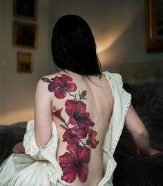beautiful back piece