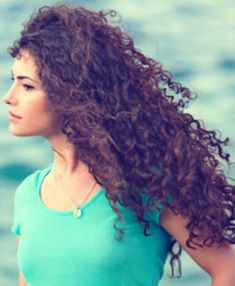 30+ Girls with Long Curly Hair - Long Hairstyles 2015