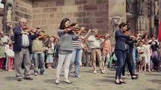 Flashmob Nürnberg 2014 - Ode an die Freude, Ode à la Joie, Ode to Joy, the Anthem of Europe.