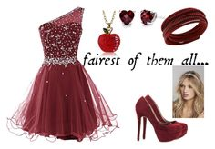 """""""fairest of them all"""" by krista-black on Polyvore featuring Michael Antonio, Augustine Jewels, Swarovski and Express"""