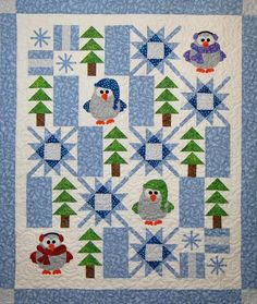 Winter Whoo quilt pattern