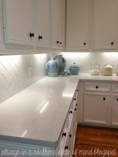 Daltile 3x6 Subway Tile From Home Depot W/Delorean Gray Grout (they Debated  Btwn
