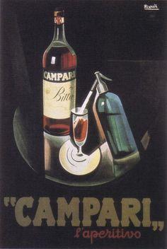 #CampariAds 1926 Nizzoli