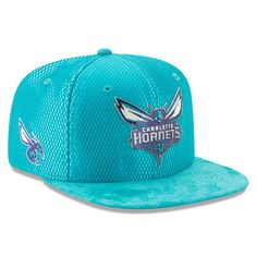 2d81be4912121 Men s New Era Teal Charlotte Hornets 2017 NBA Draft Official On Court  Collection 9FIFTY Snapback Hat