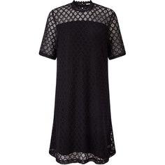 Oasis white lace shift dress