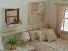 ♡ ♡ Habitación con cama rosa