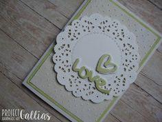 ProjectGallias: #projectgallias: kartka ślubna, wedding card