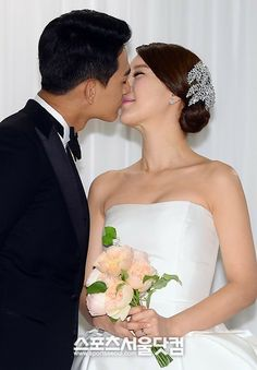 Baek Ji Young & Jung Suk Won's Wedding