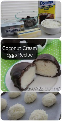 Coconut Cream Eggs Recipe -- move over Russell Stovers!