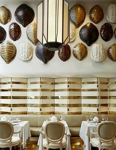 turtle shells - love this- but for a smaller area- maybe an entry ?  Fun