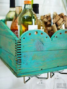 Amp up storage in your home with new and creative ways to use (and reuse) wood crates.