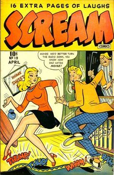 Scream Comics #19 - Comic Book Cover