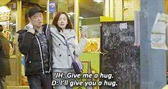 gif - gary's cameo on jihyo's drama Emergency Couple. BEST CAMEO EVERRR
