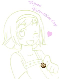 Happy Valentine Day❤️ Let Bel-chan give you chocolate❤️  ❤️Chibidora❤️