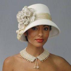 Exuberantes: chapéus para noivas Louise Green Millinerry [Foto]