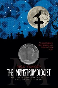 The Monstrumologist by Rick Yancey- my new favorite series.  Creepy, eerie, haunting, and brilliant.