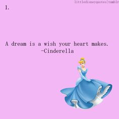 my favorite disney movie/princess/quote <3  no matter how your heart is grieving, if you keep on believing, the dream that you wish will come true!!!