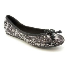 I have these with holes at the bottom i like them so ,much!  American Rag Women's 'Lolly' Basic Textile Casual Shoes | Overstock.com Shopping - Great Deals on American Rag Flats 9.5