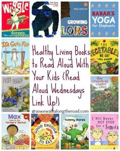 #Healthy living #books to read aloud with your kids